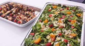 Kebabs Salad