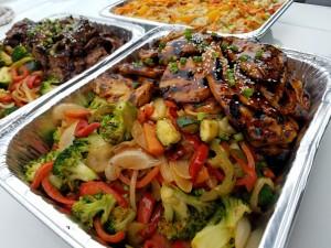 Teriyaki Chicken & Vegetables