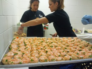 Titanic Event Britt Alicia HDS Shrimp Beef - Jersey Shore Event Catering