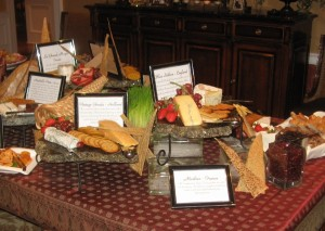 Cheese Display Angelo - Corporate Event Catering NJ