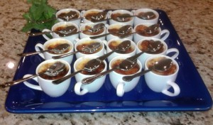 Creme Brulee in Demi Tasse - Corporate Event Catering