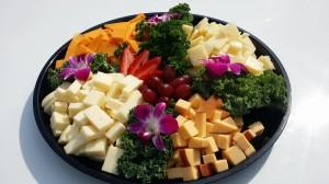 corp cheese platter