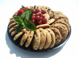 corp cookie platter