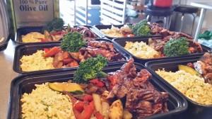 Teriyaki Beef Veg Rice